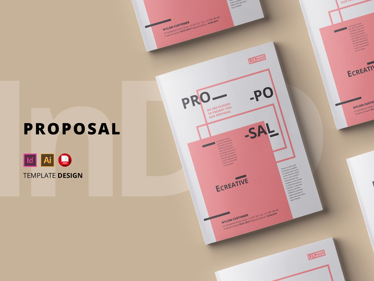 Proposal Template By Braxas Dribbble