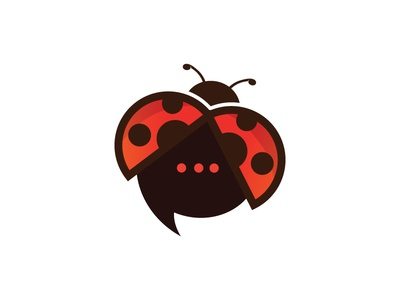 Chat Bug 2 tools online logo languages internet identity icon-design design chat charter bug branding