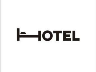 Hotel logo design designing graphics design graphics artwork sleep bed letters art hotel logo hotel room design modern creativity illustrator hotel design hotel typography abstract adobe logo