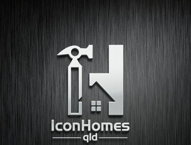 Icon Homes logo design