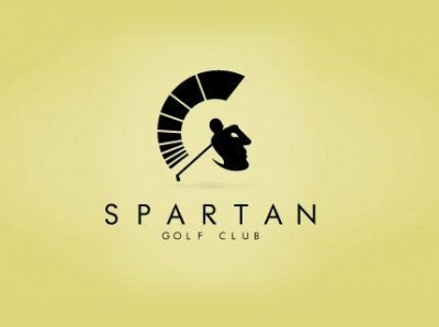 Spartan golf Logo design