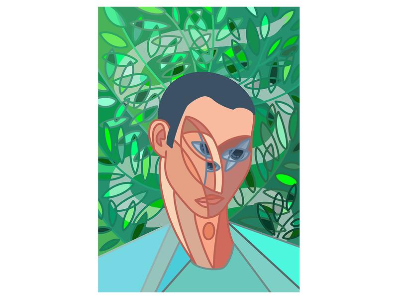 Man in the Garden