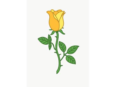 Logo Rose Variations digital painting commercial art editorial design editorial illustration design print design branding digital illustration illustration vector logo