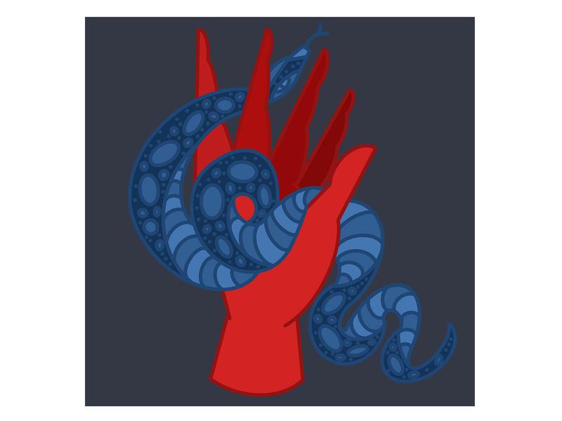 Hand and Snake