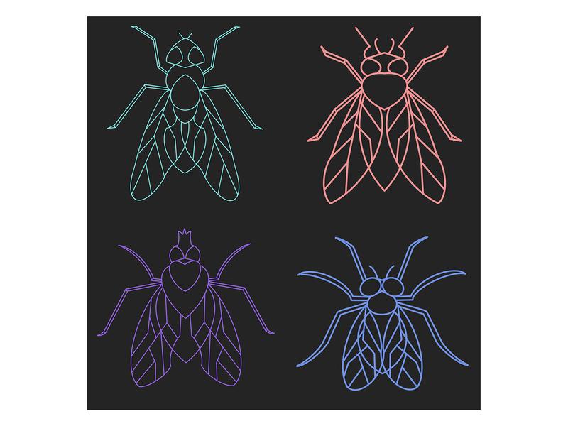 Flies pattern