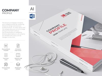 Compay Profile brochure report cover branding infographic brochure layout illustrator brochure word template brochure template company profile brochure design