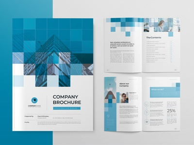 Corporate Brochure infographic annual report report cover brochure layout design word template indesign template company profile brochure template brochure design