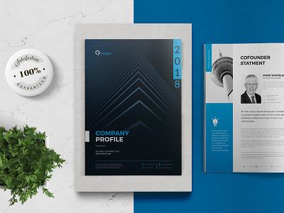 Company Profile indesign template brochure report report cover report template company brochure brochure template brochure design company profile