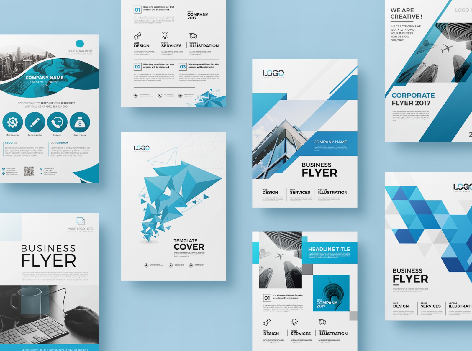 20 Corporate Flyer Double Sided By