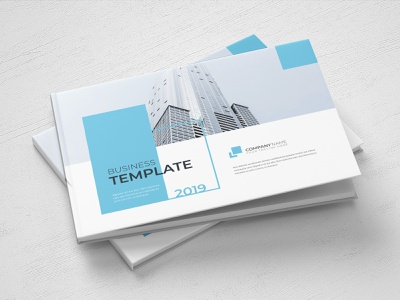 A5 Report Template blue report cover annual report brochure template a5 brochure a5 brochure design word template report design