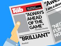 Tab Headlines
