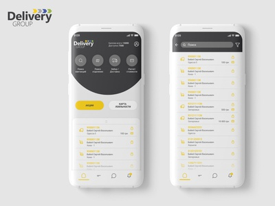 Delivery group / application design