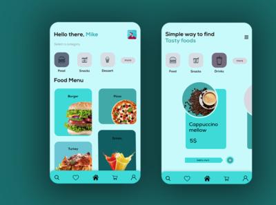 food app ui resturent app design resturent app design best app ui design app interface uidesign food apps uiux ui app mobile app design