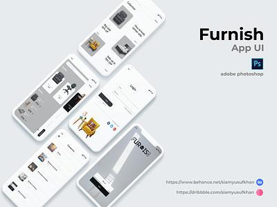Furniture mobile app design furniture app application best app ui app ui website design graphicdesign mobile design mobile app uiux uidesign app design app