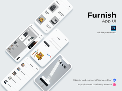 Furniture mobile app design furniture app application best app ui app ui website design graphicdesign mobile design mobile app uiux uidesign app design app
