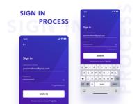 SIGN IN UI/UX