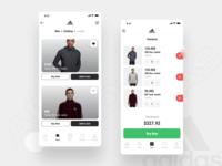 Adidas Store iOS App