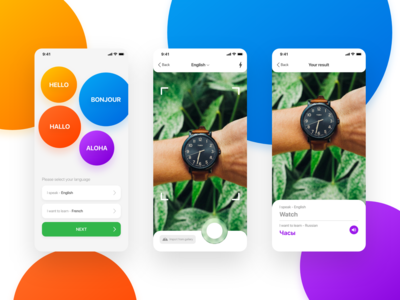 Mobile iOS App - Discover