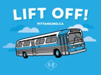 PITT AND 2ND Website Launch