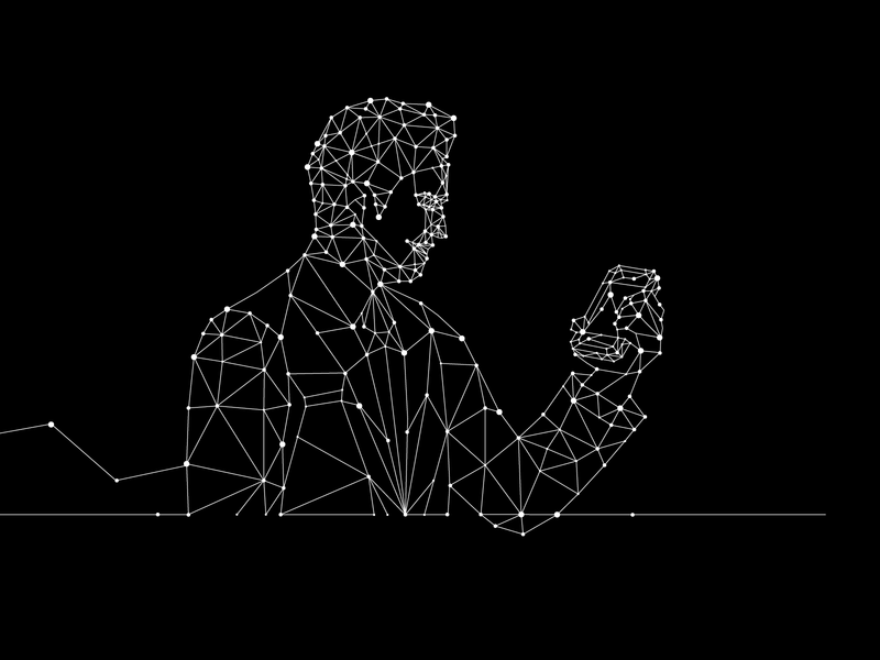 line graphic graphicdesign linework phonegraphic man human phone lineart linedrawing vector illustraion