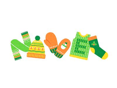 Sohan logo socks christmas mittens muffler winter clothes winter branding logo design vector logodesign doodle illustraion