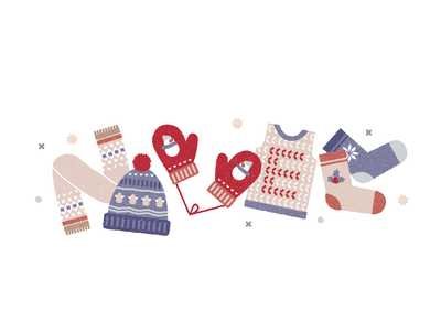 Sohan logo muffler scarf socks hat gloves christmas gif design vector logodesign doodle illustraion