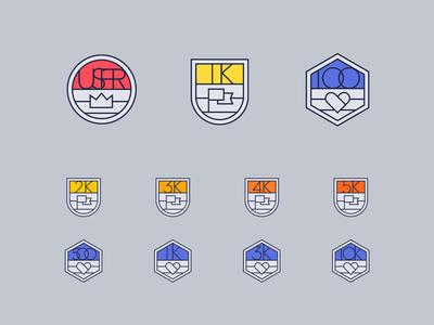 User Follower Like Badges