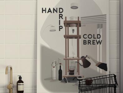 Hand Drip Cold Brew