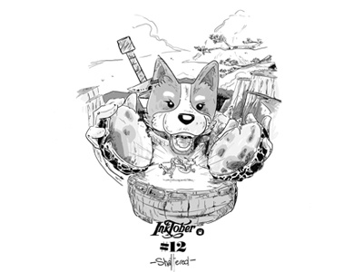 Inktober dribbble12a