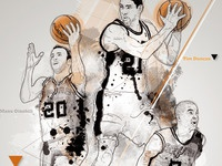 Spurs Poster Tribute