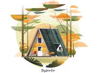 September Cabin