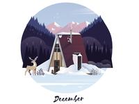 December Cabin