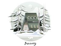 January Cabin