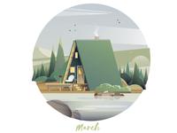 March Cabin