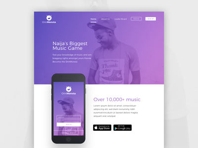 OrinMonsta - Product page product page music games