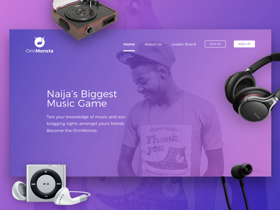 OrinMonsta product page music games