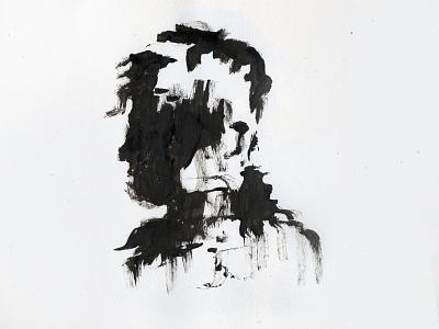 Shadow search drawn black shadow