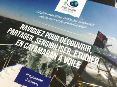 Programme d'actions brochure - Terre Marine