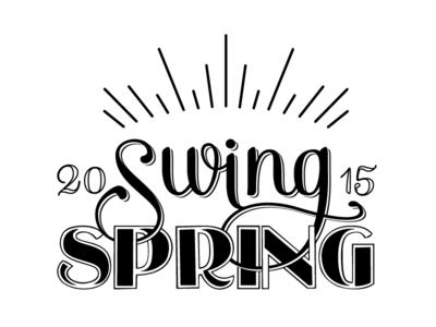 Swing Spring Logo logo swing jazz vintage