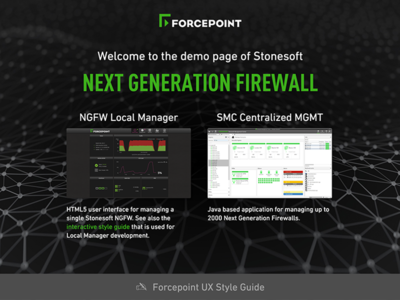 Forcepoint NGFW Demo landing page responsive rwd ngfw forcepoint
