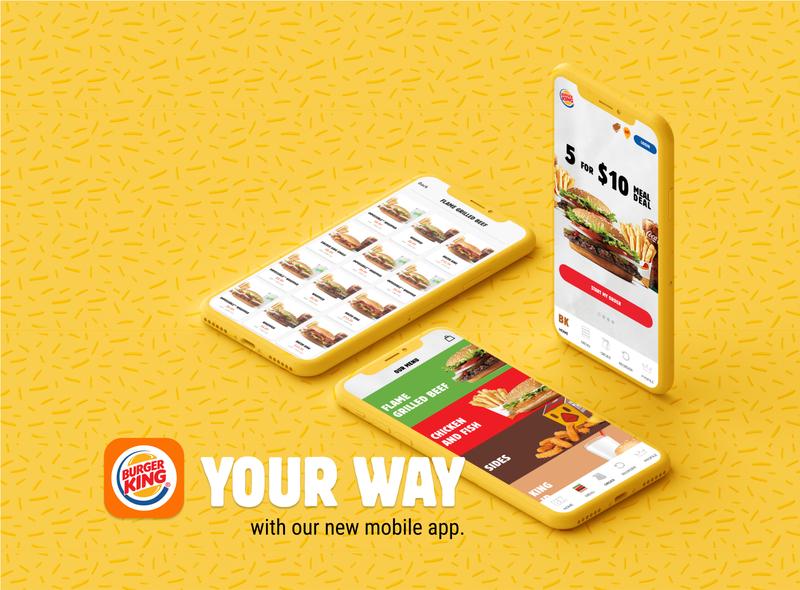 Burger King Mobile App Redesign