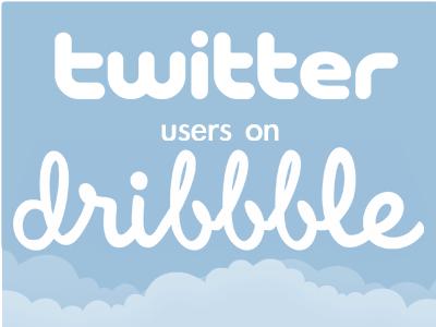 Tweeters on Dribbbles