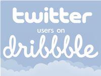 Tweeters on Dribbbles