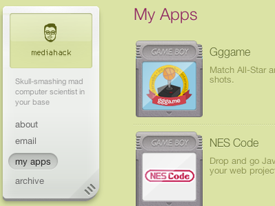 Apps Page Update mediahack apps gb carts gameboy cartidge