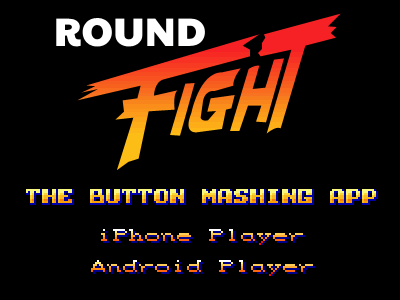 Round. Fight! fight app microsite ios android