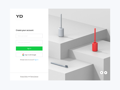 Sign Up Form clean ui project onboarding communication web design sign in sign up dailyui mobile ui layout website account form white interface web login ecommerce