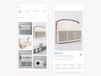 Image Gallery Screen - Designer App