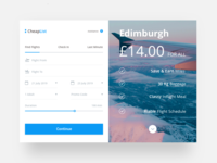 Cheaplist - Flight Booking