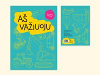 """I'm driving"" Coloring Book Design"