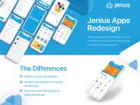 Jenius Apps Redesign